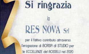 """Premio """"Eccellenze del Rosselli"""""""